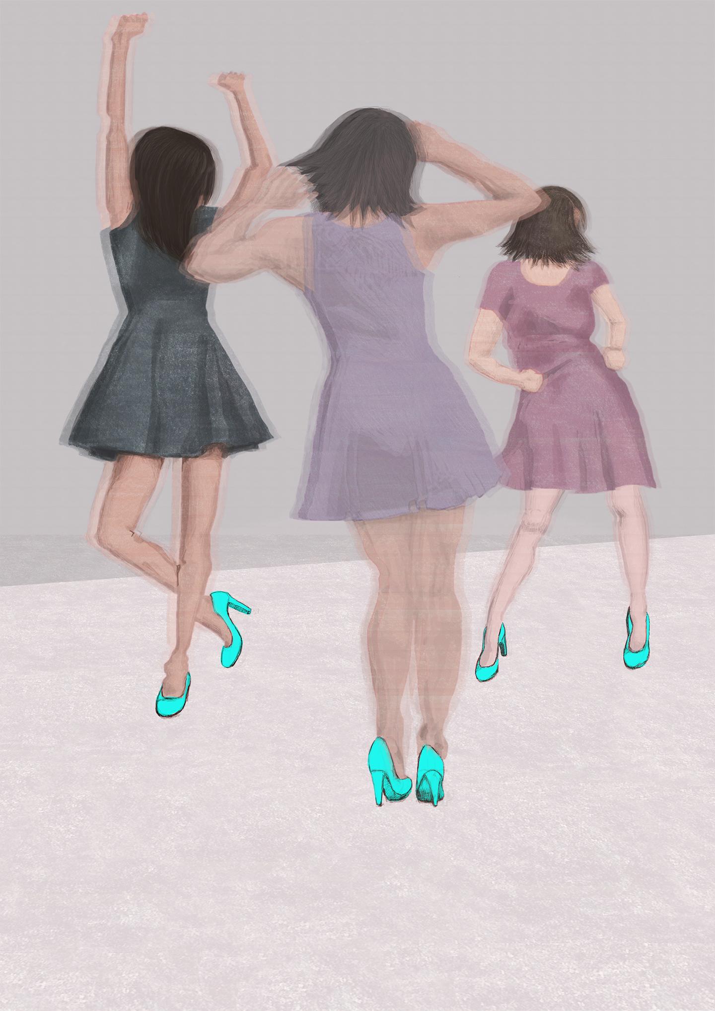 På dansegulvet